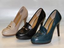秋新款玖熙正品时尚防水台细高跟女单鞋NWDANCINDARK 价格:335.00