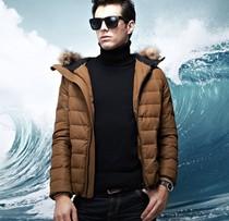 布料非凡韩版潮青春流行时尚都市男冬装外套纯色加厚修身皮棉袄男 价格:349.00