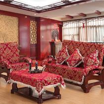 尹师傅 单体红木沙发坐垫  实木沙发坐垫加厚实木 三连座带靠背 价格:62.40