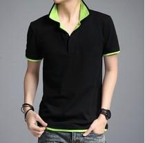 美特斯邦威夏装新款男装 韩版 男T恤带领短袖polo衫 男士短袖t恤 价格:58.00