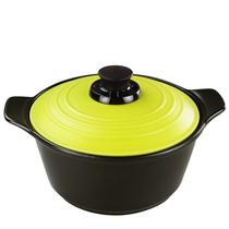 雅泰 3L/3000ml双耳汤锅(绿色、橙色2色可选) 陶瓷汤煲干烧不裂 价格:268.00