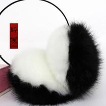 两件包邮韩版毛绒绒耳套耳罩 秋冬护耳长毛毛绒耳套耳包仿兔毛 价格:10.50