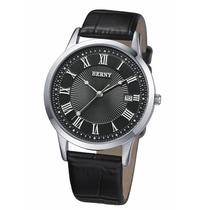 berny/伯尼 正装真皮表带男表 正品品牌全国联保手表 男士石英表 价格:379.62