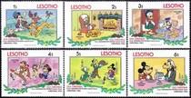 莱索托1983年圣诞6枚新 原胶全品 外国迪斯尼卡通邮票集邮收藏 价格:5.00