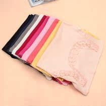 【4件包邮】2013春装新款棉背心蕾丝花边女装修身百搭纯色短款 价格:17.00