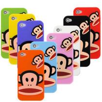 苹果5代iphone4手机壳 硅胶套 大嘴猴手机壳4S保护套iphone5软壳 价格:13.68