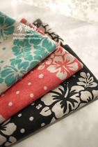 【布想说】KAKO棉纱感棉布 手工服装布料 海岛樱花 价格:10.00