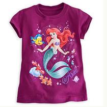 预定美国代购disneyAriel and Friends迪斯尼美人鱼和朋友女童t恤 价格:159.00