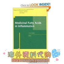 Medicinal Fatty Acids in Inflammation (Progress in Infla 价格:66.00