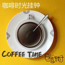 奇物集 Coffee Time Clock咖啡时光挂钟 咖啡杯壁钟 艺术创意钟 价格:35.00