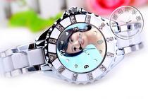 定做照片手表歌迷粉丝刘荷娜明星周边纪念珍藏礼物同款写真艺术照 价格:128.00