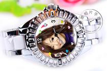 定做照片手表歌迷粉丝井上真央明星周边纪念珍藏礼物同款写真艺术 价格:128.00