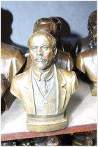 刘家园纯铜西洋恩格思人物半身像铜制工艺品促销运费免28cm摆件 价格:589.00