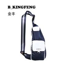 B-KINGFENG金丰正品新款热卖 尼龙男士胸包 商务休闲斜挎 价格:150.00