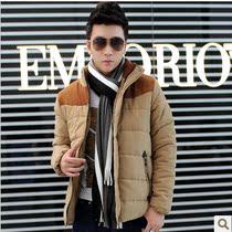 杰克琼斯2013新款正品男士休闲棉衣 男立领棉服修身外套男 韩版潮 价格:146.00