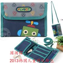 2013韩国新款机器人男童 钱包 男孩 礼物 男宝宝 斜挎包 钱包卡包 价格:65.00