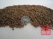 散装普瑞纳金鱼鱼苗饲料日本锦鲤鱼饲料观赏鱼饲料小粒 中颗粒/斤 价格:3.60