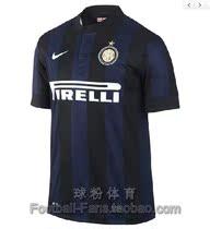 正品 国际米兰主场球衣 13-14赛季新款短袖足球服 国际米兰足球衣 价格:198.00