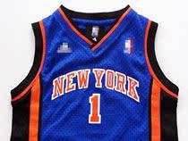 刺绣款KNICKS大网眼 男孩尼克斯队篮球服 客场球衣1号弗朗西斯 价格:59.00