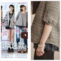 好看!2013秋冬新款 五分袖水溶蕾丝 羊毛短外套 可爱森女娃娃装 价格:66.00