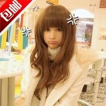 假发包邮 长卷蓬松女生齐刘海发型非主流新款修脸时尚可爱假发套 价格:29.00