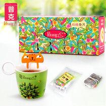 普克玫瑰花茶 玫瑰普洱组合花茶茶包/袋泡茶 花草普洱茶养颜茶叶 价格:39.60