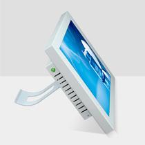得丽珑 15寸触摸屏一体机白色款 点餐 工控 医疗 收银 电脑首选 价格:2150.00