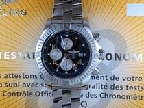 百年灵超级复仇者计时系列A1337011/B973(专业型精钢表带)腕表 价格:19800.00