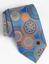 正品美国代购Ermenegildo Zegna男士意大利产手工印花真丝领带 价格:3085.00