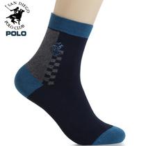 6双包邮 POLO男袜子 保罗男士棉袜运动袜 秋季中筒袜男人袜短袜 价格:9.40