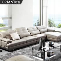 【天猫家装节预售】皮沙发顶级真皮沙发现代皮艺沙发组合MSSL1018 价格:4899.00