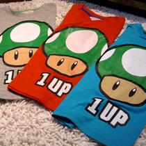 潮牌童装玛利最爱蘑菇儿童纯棉T恤卡通短袖衫男女童装 价格:39.00