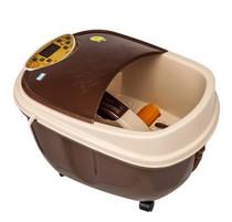溢泉ZY-588足浴盆全自动按摩洗脚盆电动按摩加热泡脚盆深桶足浴器 价格:599.00