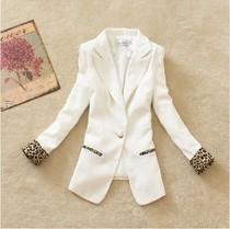 小西装女 2013秋季韩版新款 修身显瘦 糖果色常规款长袖大码西服 价格:59.00