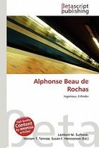 【预订】Alphonse Beau de Rochas 价格:615.00