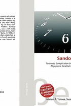 【预订】Sandoz Watches 价格:825.00