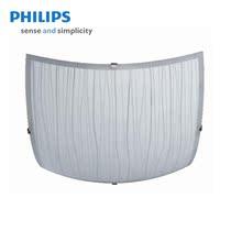 飞利浦欧式 节能玻璃 吸顶灯 雅意 QCG318 宽度290mm高度95mm 价格:228.00