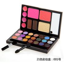 DANNI丹妮21色眼影盘 正品 彩妆套装组合 大地色眼影 裸妆 价格:14.80