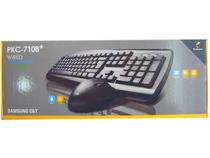 三星旗下品牌 SAMSUNG/派乐士 三星PLEOMAX PKC-710B+键鼠套装 价格:65.00