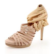 断码 银泰百货 Fendi芬迪 女士凉鞋 高跟凉鞋罗马凉鞋 39码 价格:3663.00
