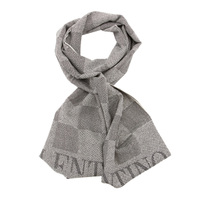 VALENTINO华伦天奴灰色羊毛材质格纹样式围巾,SCARF12Y193MG 价格:599.00