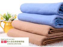 正品彩阳牌 双人双控电热毯 纯色160*130 加大180*150 限时包邮 价格:93.50