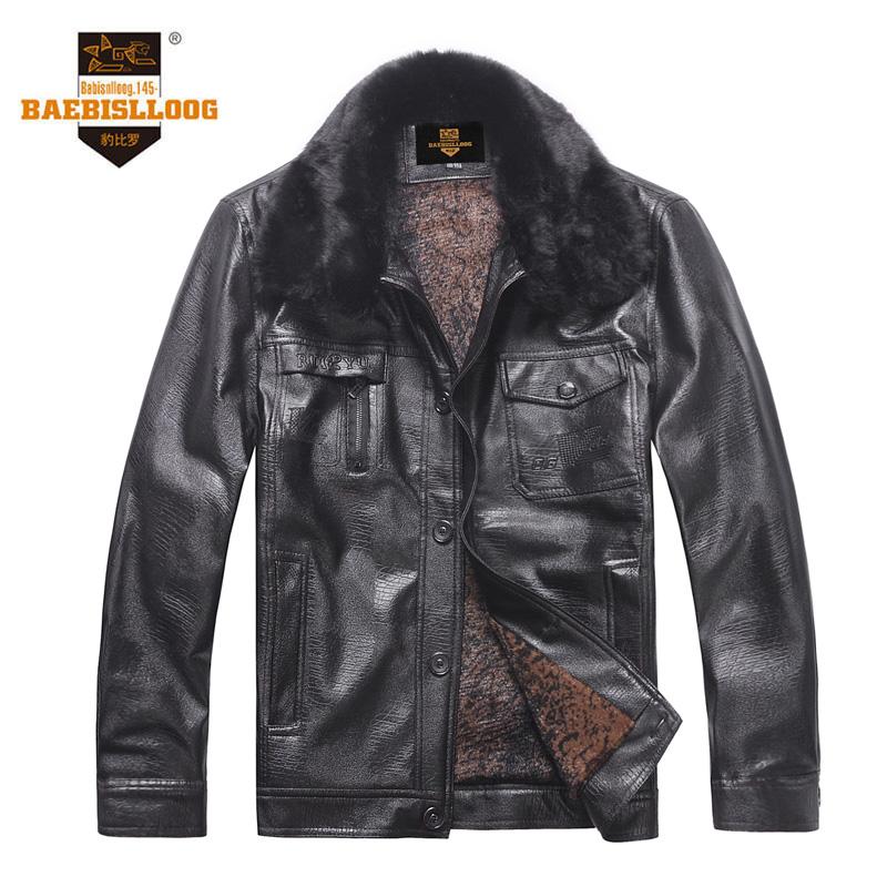 2013加绒新款冬装男装加厚外套中年男士PU皮衣中老年皮衣外套 价格:99.00