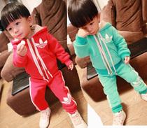 2013反季秋冬款 韩版男女童儿童套装 宝宝衣服婴儿套装2-3-4-5岁 价格:68.00