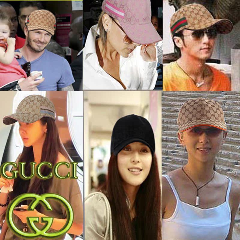 正品古奇帽子GUCCI帽子男帽鸭舌帽太阳帽休闲帽女帽棒球帽情侣帽 价格:180.00