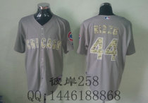 2013 MLB Chicago Cubs 44# RIZZO Grey Jerseys 价格:78.00