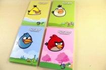 广博文具AB5101愤怒的小鸟系列卡通可爱软面抄日记本 40页 软抄本 价格:2.34