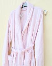 原单出口外贸高品质女纯棉毛巾浴袍加厚款有加大码 价格:99.90