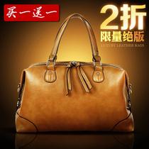 专柜正品牌2013新款潮牛皮单肩手提包欧美时尚韩版新品女包特价 价格:158.40
