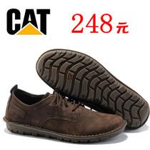 专柜正品卡特/CAT男鞋磨砂皮休闲皮鞋手工气垫鞋牛筋底男士休闲鞋 价格:480.00